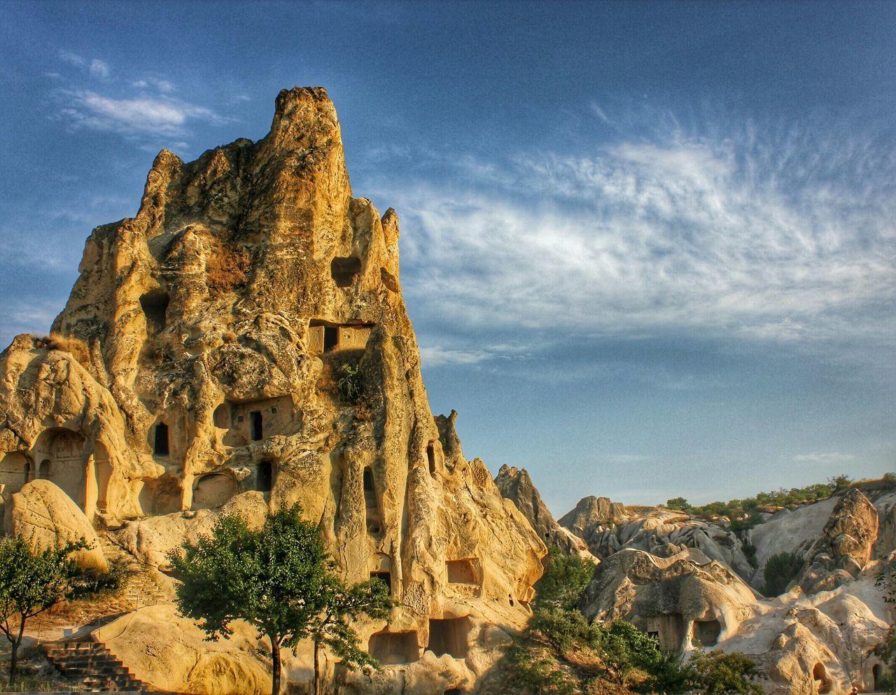 Capadoccia Cave House Turkey Nevşehir Göreme Sunset Sunset_collection Old Rock House