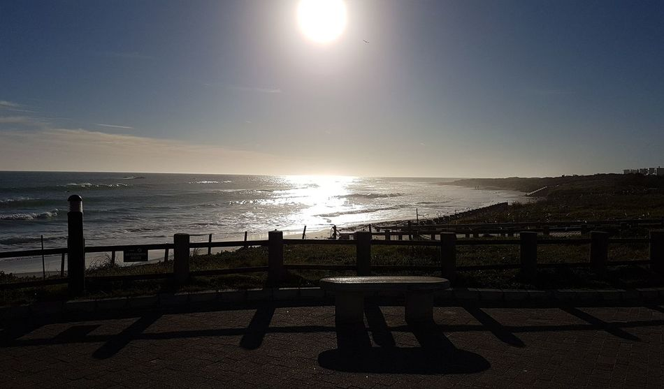 From Where I Stand Sea View Cape Town Beauty Seaside Life Seascape Cape Town, South Africa Capetown South Africa Cape Town BloubergStrand African Skies Wintry Sunset South Africa Sunset Over Africa