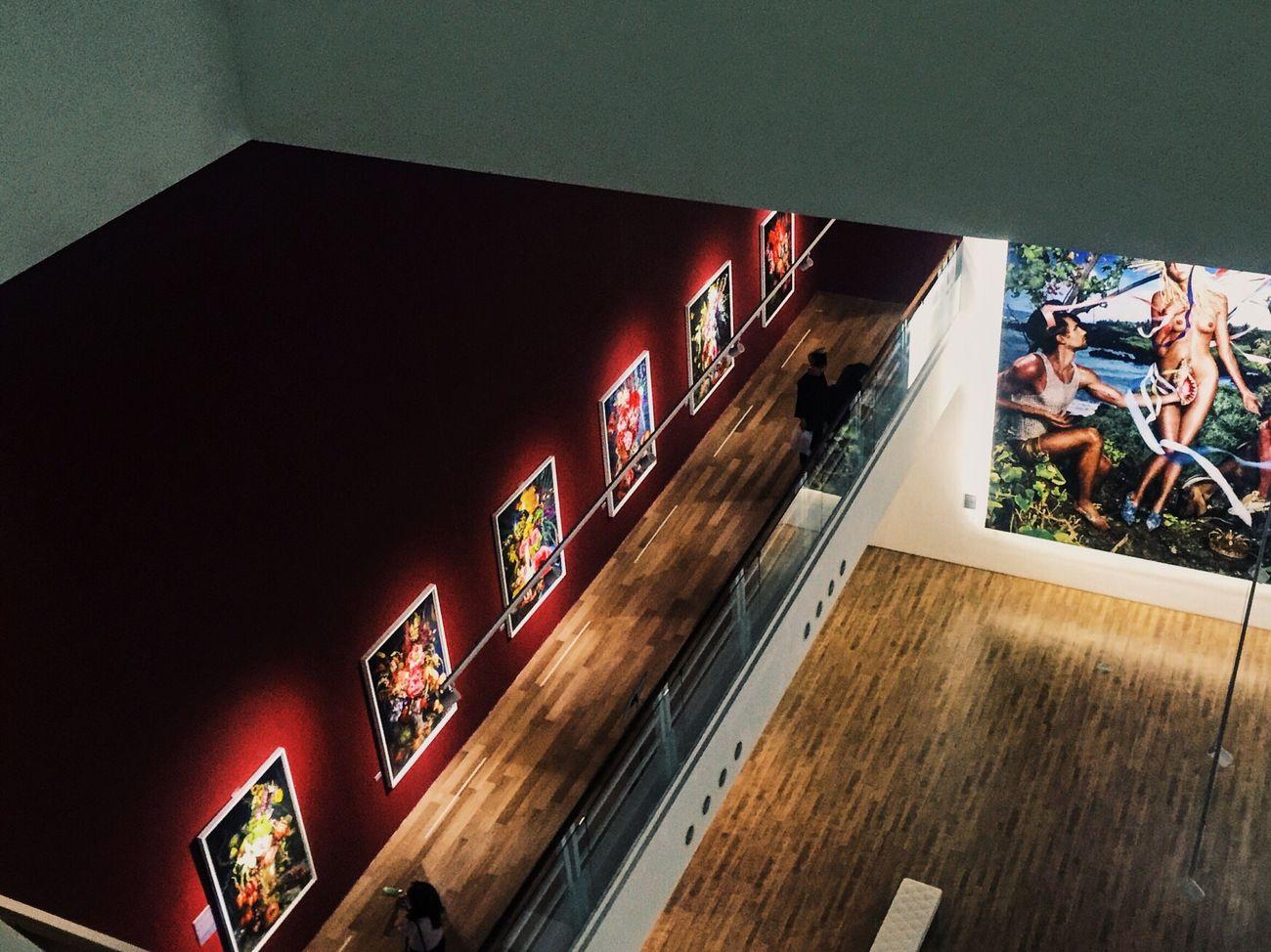 Seoul, Korea David Lachapelle Inscape of Beauty Cool Picture in ara modern art museum M2