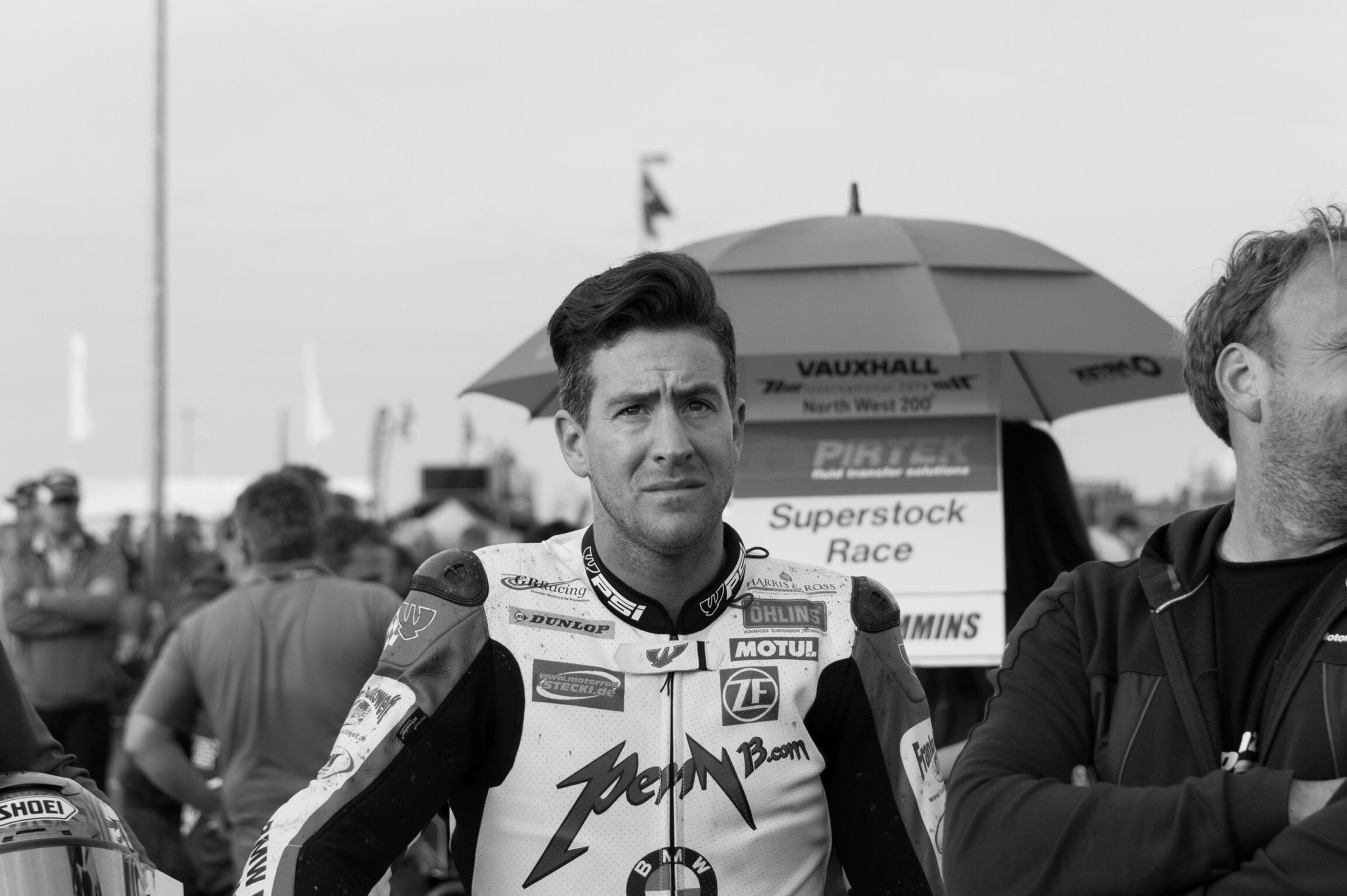 The late Simon Andrews at the Northwest 200 NW200 Simon Andrews Road Racing Iomtt