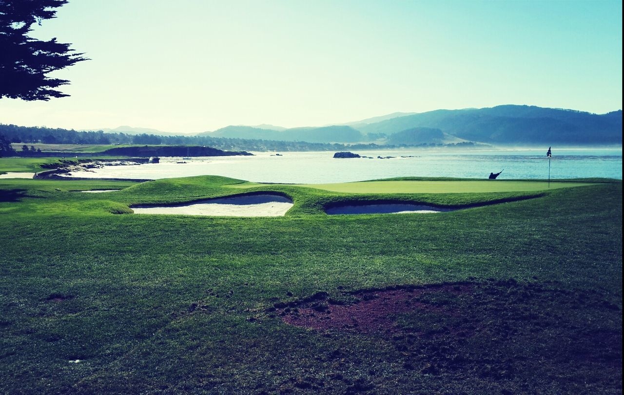 Beautiful stock photos of golf, Beauty In Nature, Clear Sky, Copy Space, Day