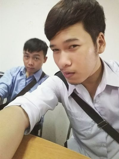 At School With Friend