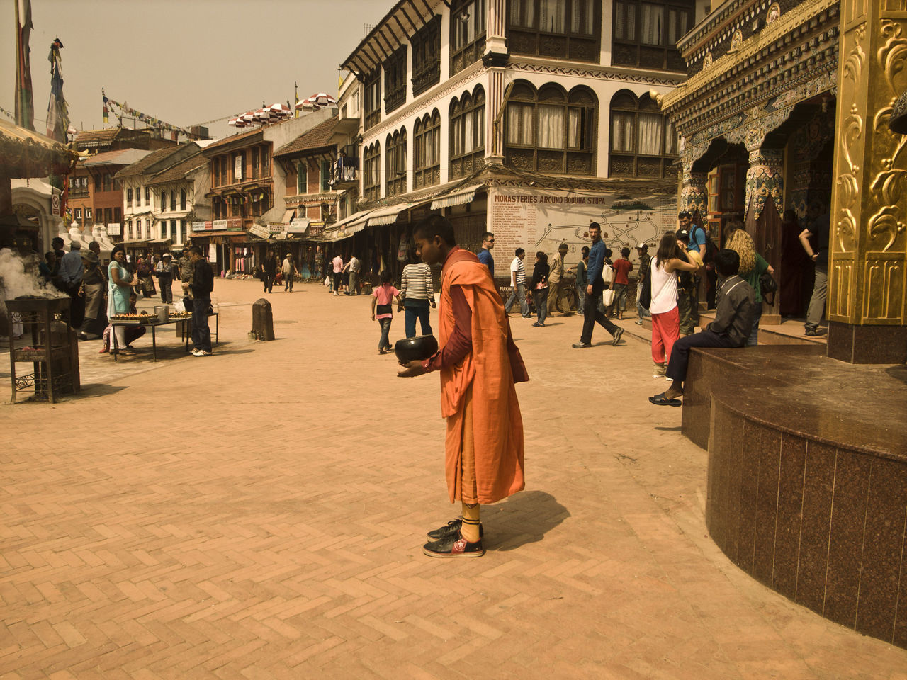 Nepal Acient Town Nepalese Culture Buddhist Monks Spirituality Nepalese Monk Asian Culture ASIA Nepal Travel Travel Destinations