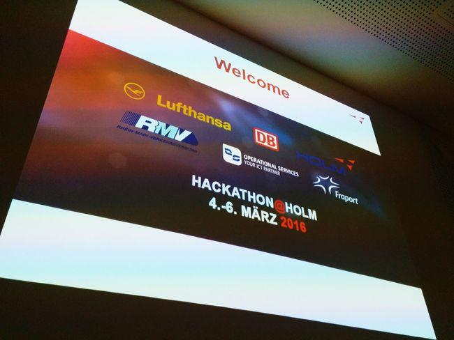 HOLMhack Hackathon Dbopendata Lufthansa Rmv Fraport