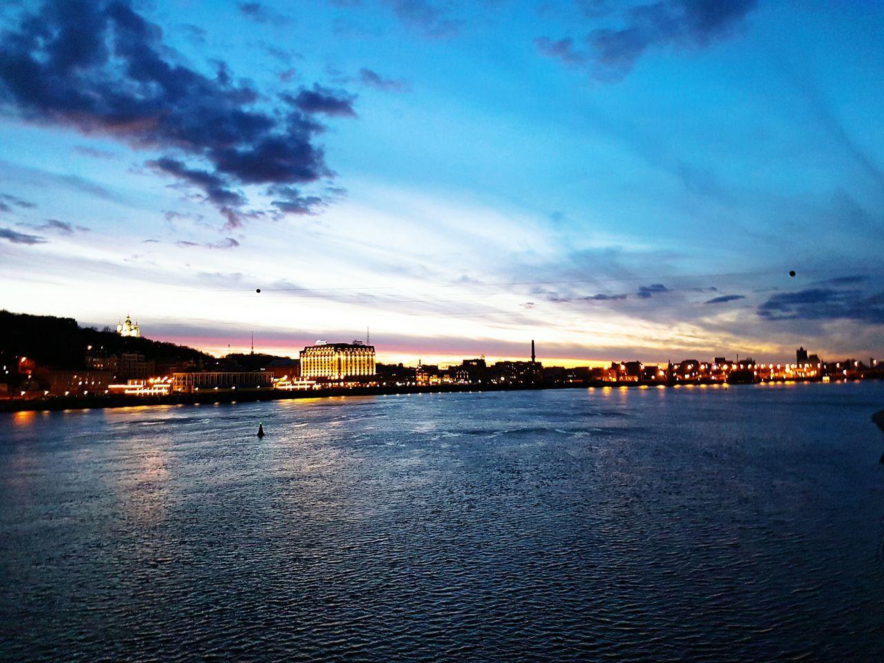 Киев Kiev Dnepr вечер мост First Eyeem Photo