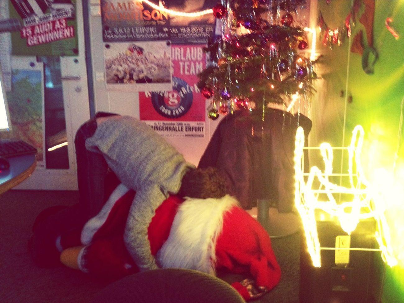 Weihnachtsmann Verspätet Sich
