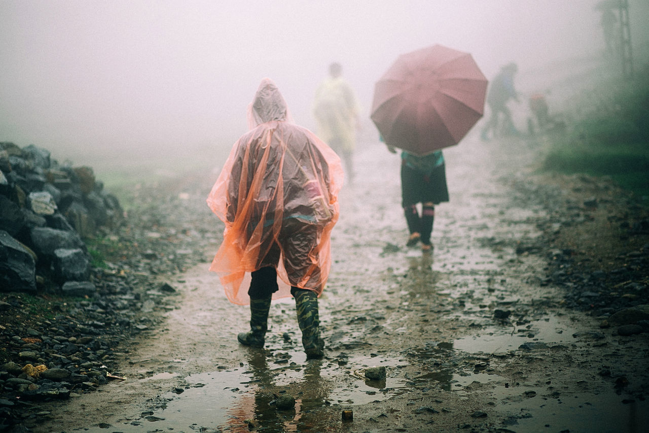 Adventure Canon Canonphotography Life Live For The Story Nature Outdoors Rain Real People Sapa, Vietnam Togetherness Trekking Vietnam Weather Wet