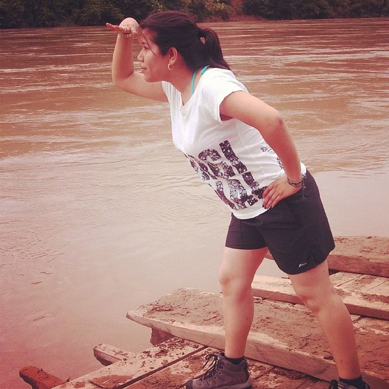 Tarapoto Huallaga Cruzando el Rio