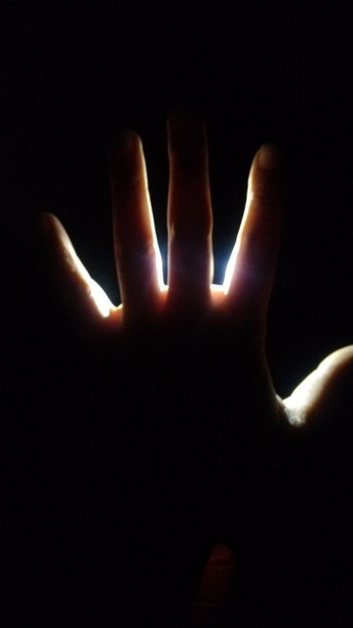 Human Finger Close-up Majestic Unrecognizable Person Dark Solitude Darkroom Black Background The Color Of Business People And Places Peo