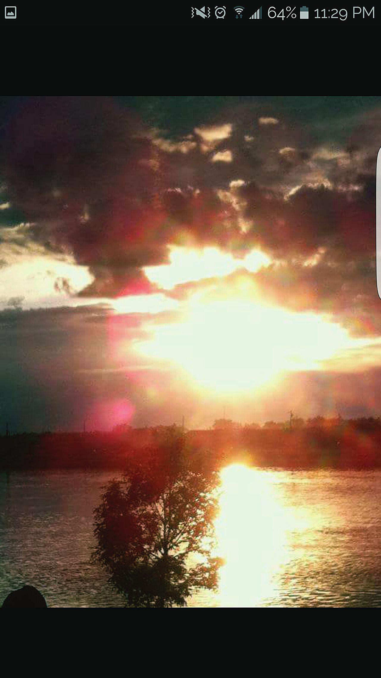 Northern MB. Sunset Park. SKriver Sunset Nature Canada Manitoba
