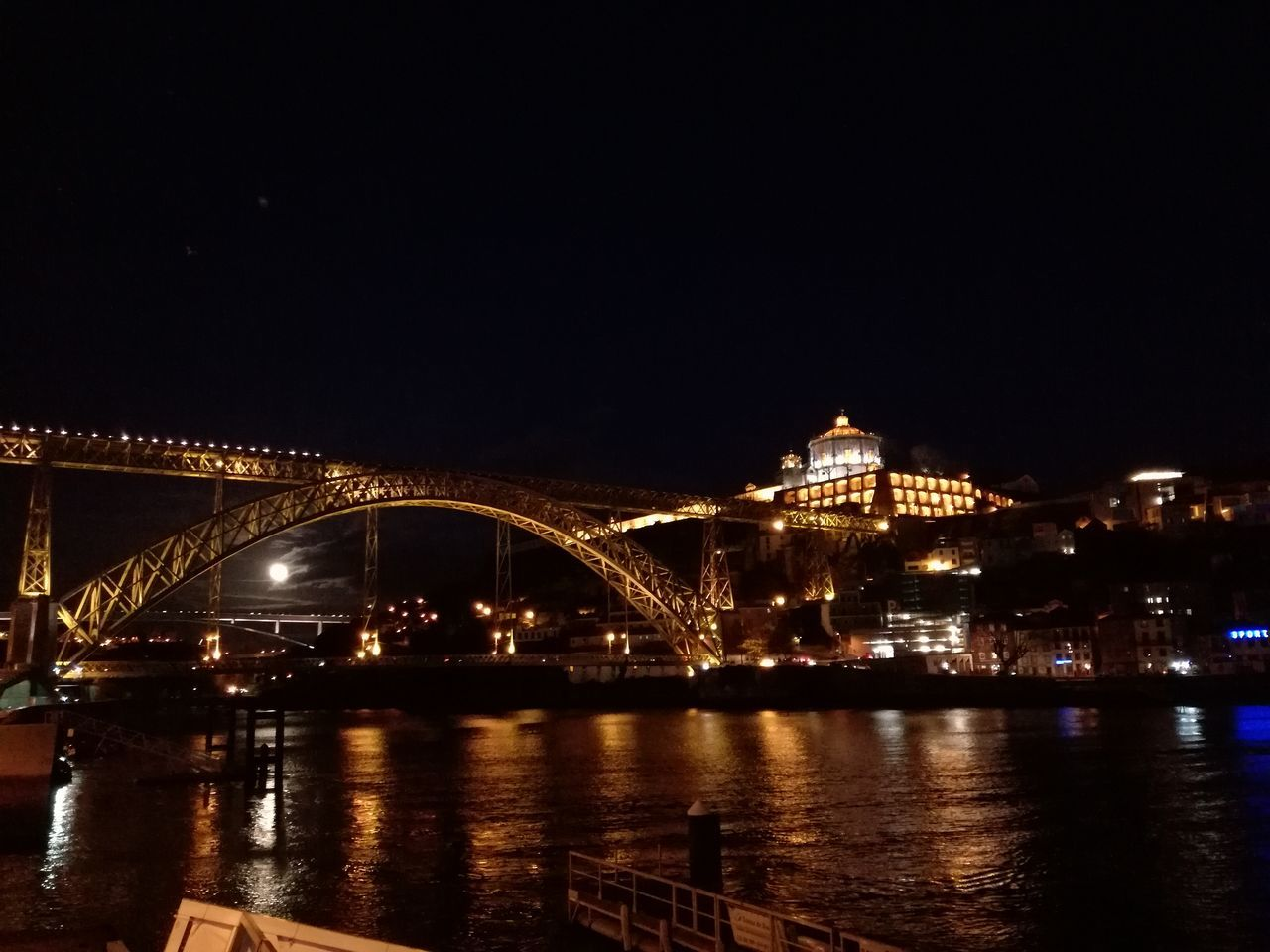 Portugal Porto Night Lights Nofilter Sundaynight 12march2017 D'Luis Brigde