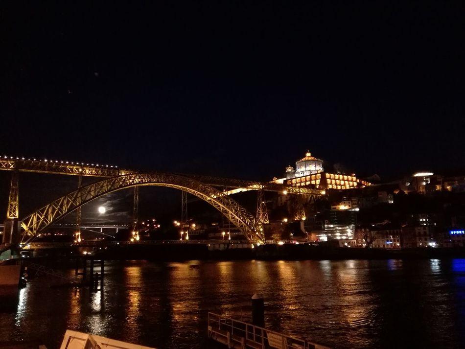 Portugal Porto Night Lights Nofilter Sundaynight 12march2017 D'Luis Brigde