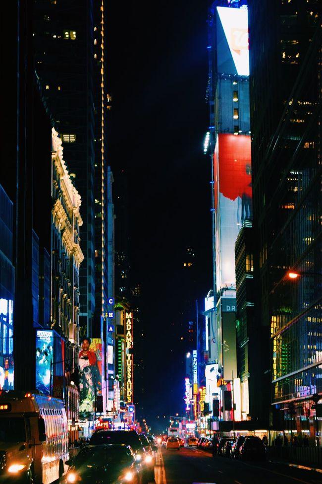 Traffic Nightphotography Night Photography Cars Lights Light NYC Midtown TimesSquare Times Square NYC EyeEm NYC Nikon NIKON D5300 Team Nikon Nikonphotography