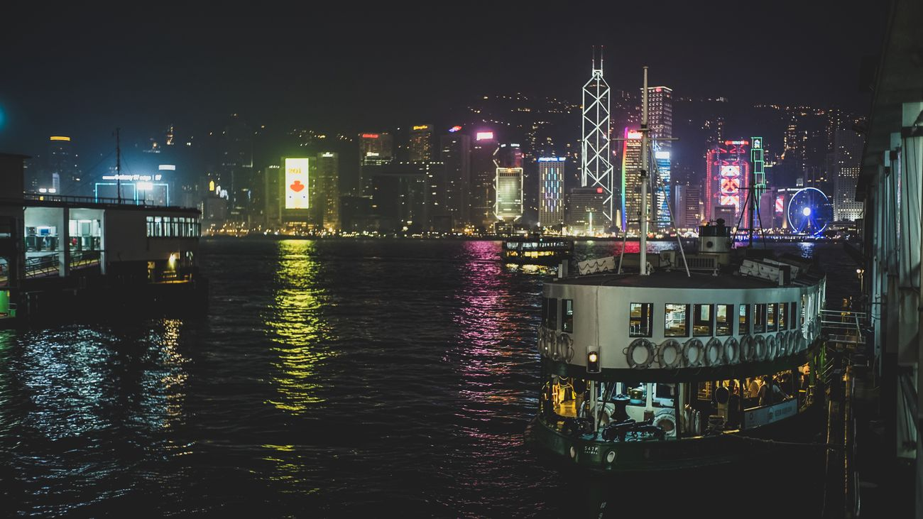 Ferry pier night Discoverhongkong Sonyimages Sumillux35mm1st Oldlens Nightscape EyeEmNewHere Beautiful Streetphotography Nightphography Cityscapes Moment Of Silence Life In Motion Hello World Found On The Roll EyeEm Best Edits EyeEm Masterclass From My Point Of View EyeEm Gallery Captured Moment Capture The Moment Lifestyles Walking Around Taking Photos City Life Moments Of Life