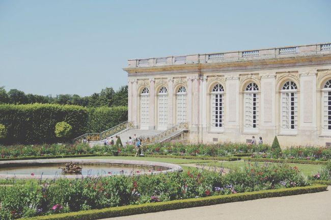 Taking Photos of Versailles , Petit Trianon