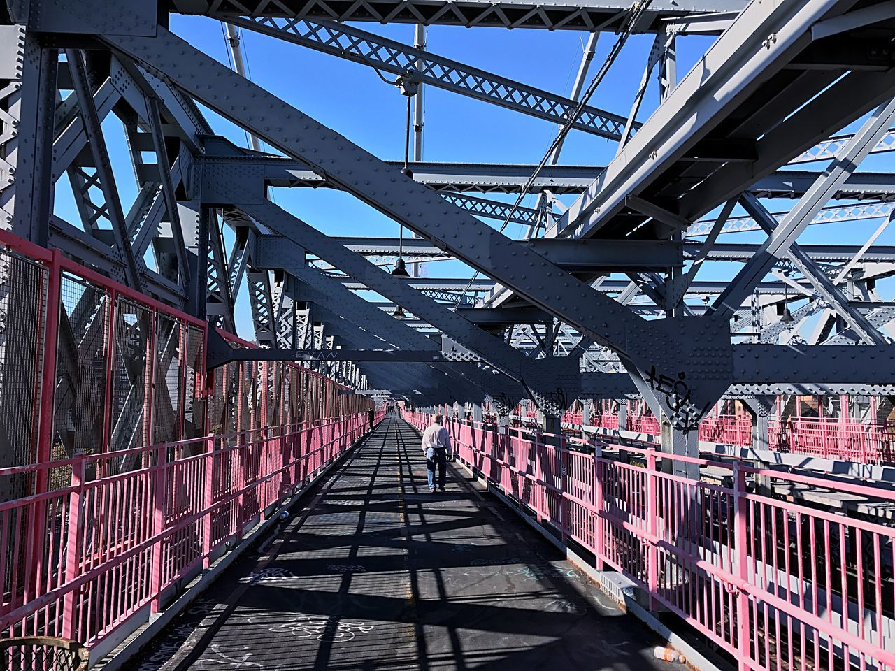 New York Urban Lifestyle Bridge Industrial Cold Metal Structure City Life Eye Best Shot Enjoy The New Normal Embrace Urban Life New Talent Popular