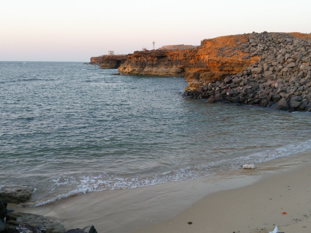 Smallest beach of India