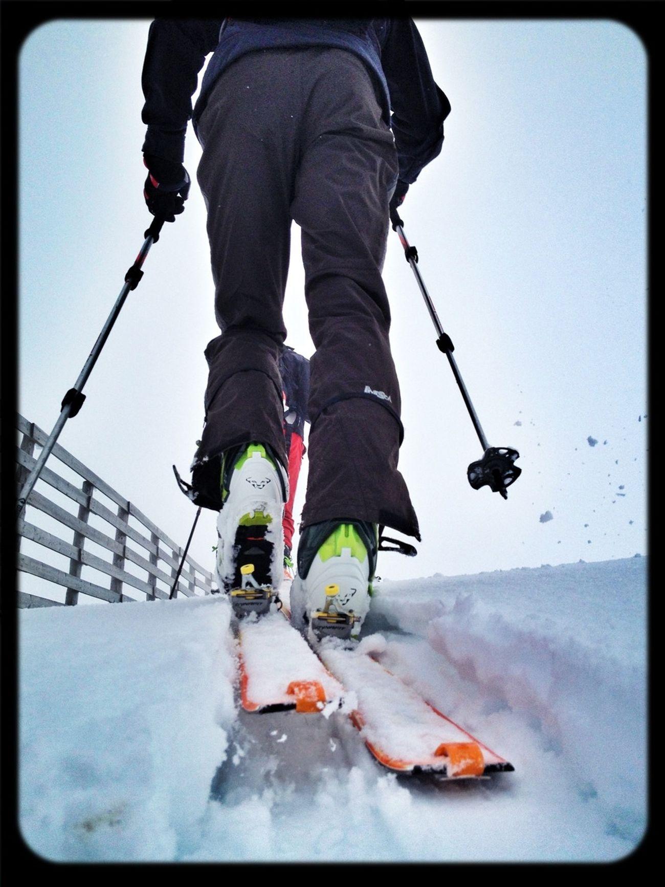 Continúa La Temporada #dynafit #skimountaineering #skimo #esquídemontaña #boladelmundo #mountain #spring #ilovemountains #primavera #gasss #training #badsnow #fog