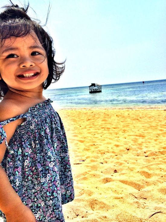 Her smile... Beach Photography First Eyeem Photo