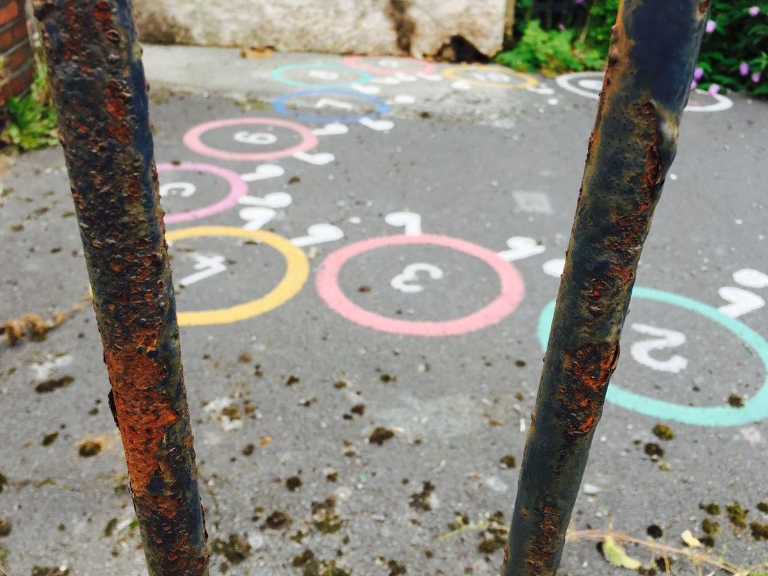 Playground Prison No People School Playground