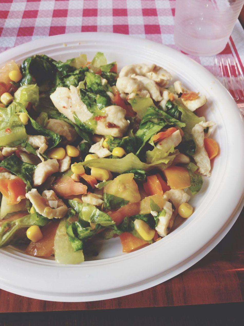 Lunch Chiken Salad Sogood Beach
