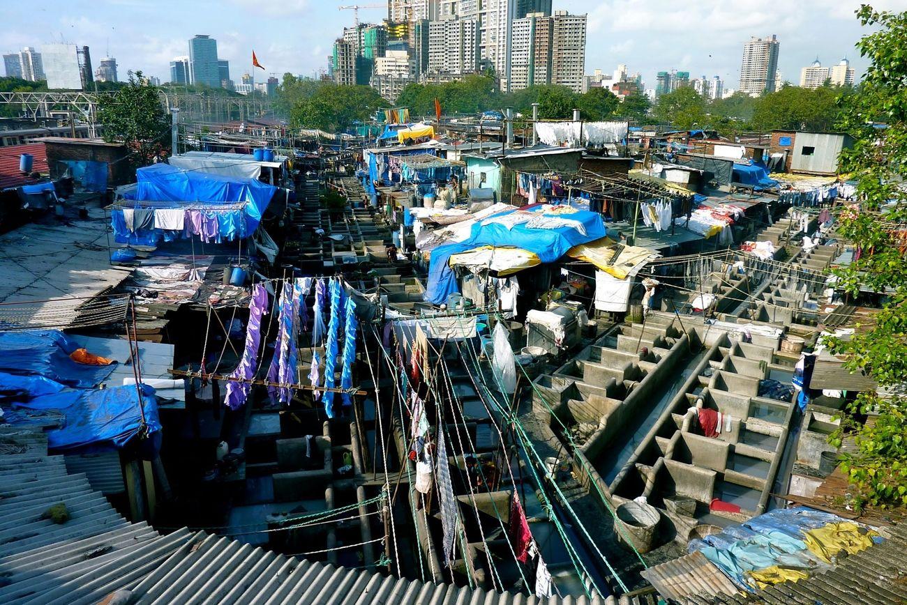 Mumbai Slum Blue Daravi