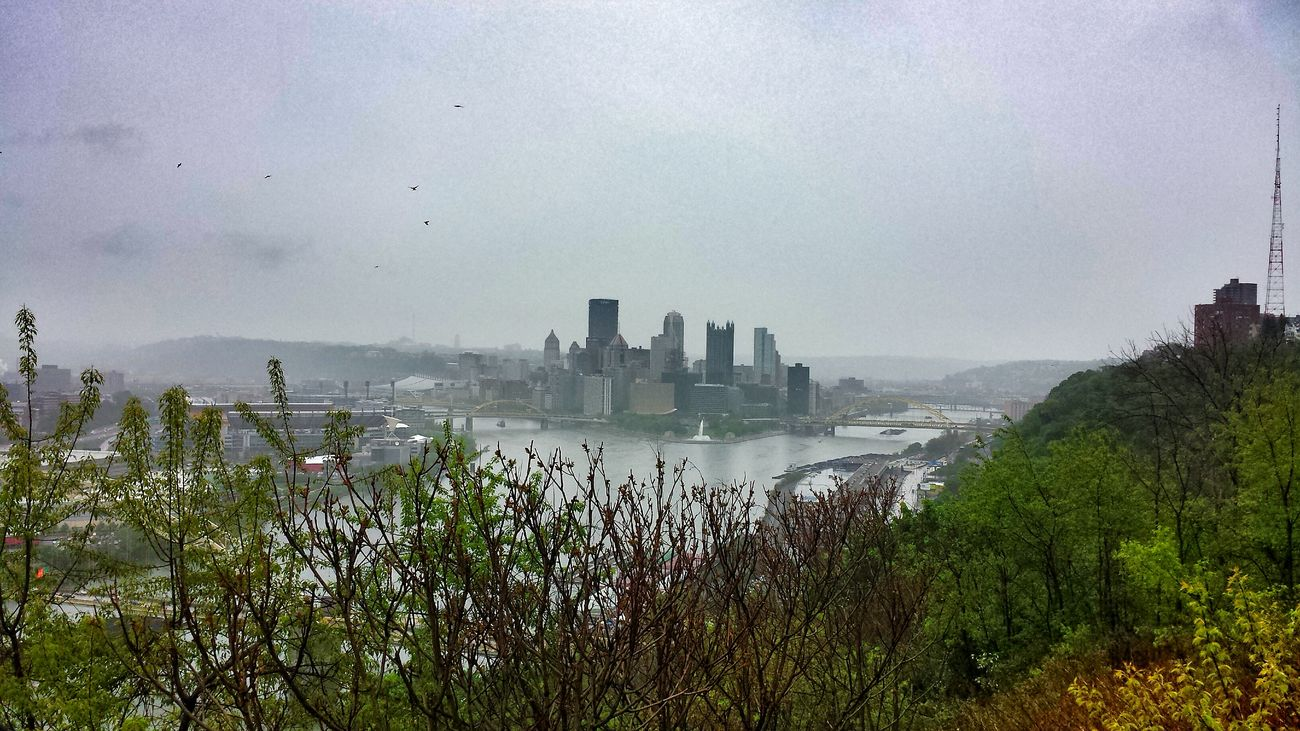 "A view from the West End Overlook, which was in the movie ""Perks of Being a Wallflower."" Urban Landscape Streamzoofamily Pittsburgh, PA At The Park"