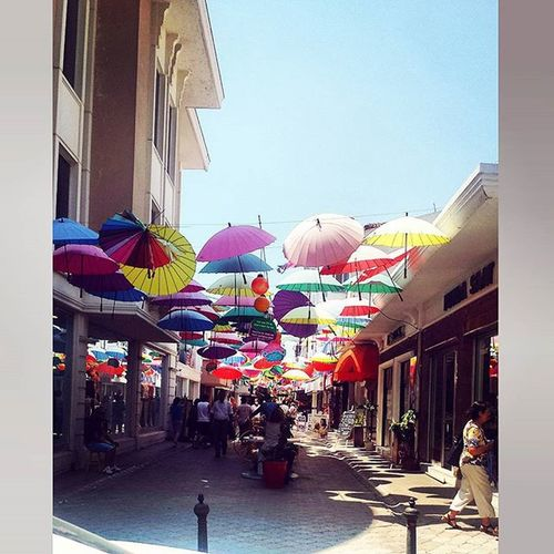 Beautiful day at the markets! Markets Umbrellas Turkey Spend Chill Buy Fetiye Afternoon Holiday Family