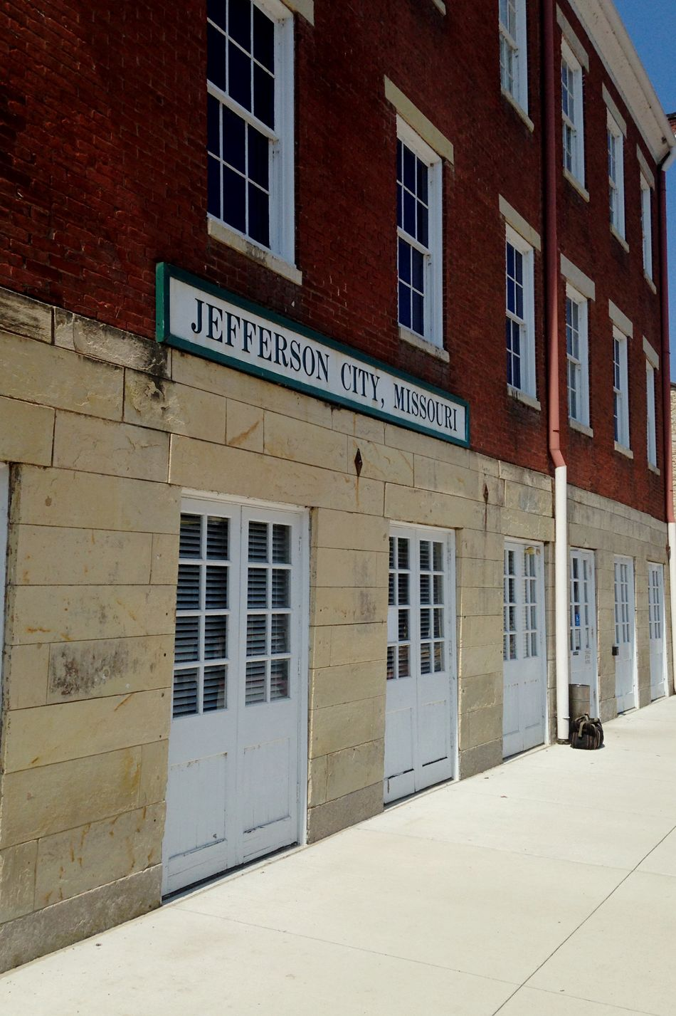 Jeffersoncitymo Missouri Train Station Historical Building