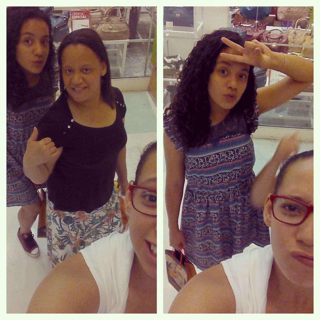 Selfie ✌ com elas.! Mainha They . Amoqueamo #Uhuuuuuul.