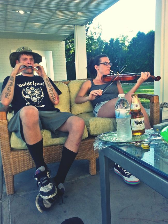 Uh... 4th of july, with family and friends at frank sinatras house. We are way too crusty for a house this nice. Highlife 420 Notes From The Underground Urban Decay