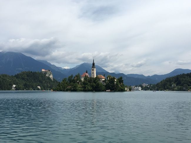 Bled Lake Bled, Slovenia Lake Bled Bled, Slovenia Bled Castle Castle Island Church Lake Water Mountain Architecture Waterfront Cloud Clouds And Sky Nature Beauty In Nature Tranquility Tranquil Scene Travel Travel Destinations Slovenian Alps Hidden Gems  Alps Slovenia