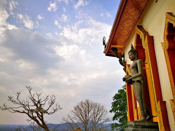 EyeEmBestPics EyeEm Best Shots Huawei Thailand EyeEm Gallery Sky Temple Belive Cloud - Sky Budha