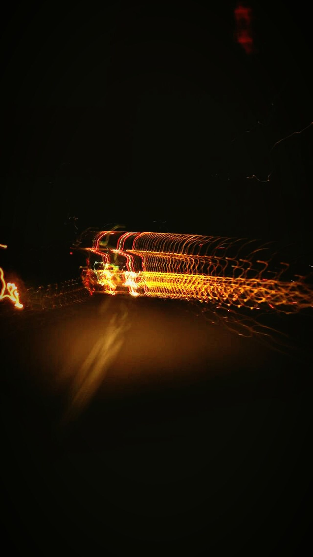 Lightning! Shutter speed trick. Shutter Speed Night Outdoors City Road Illuminated Lit mobilephotography Motion Mobilephoto Trippy Camera First Eyeem Photo