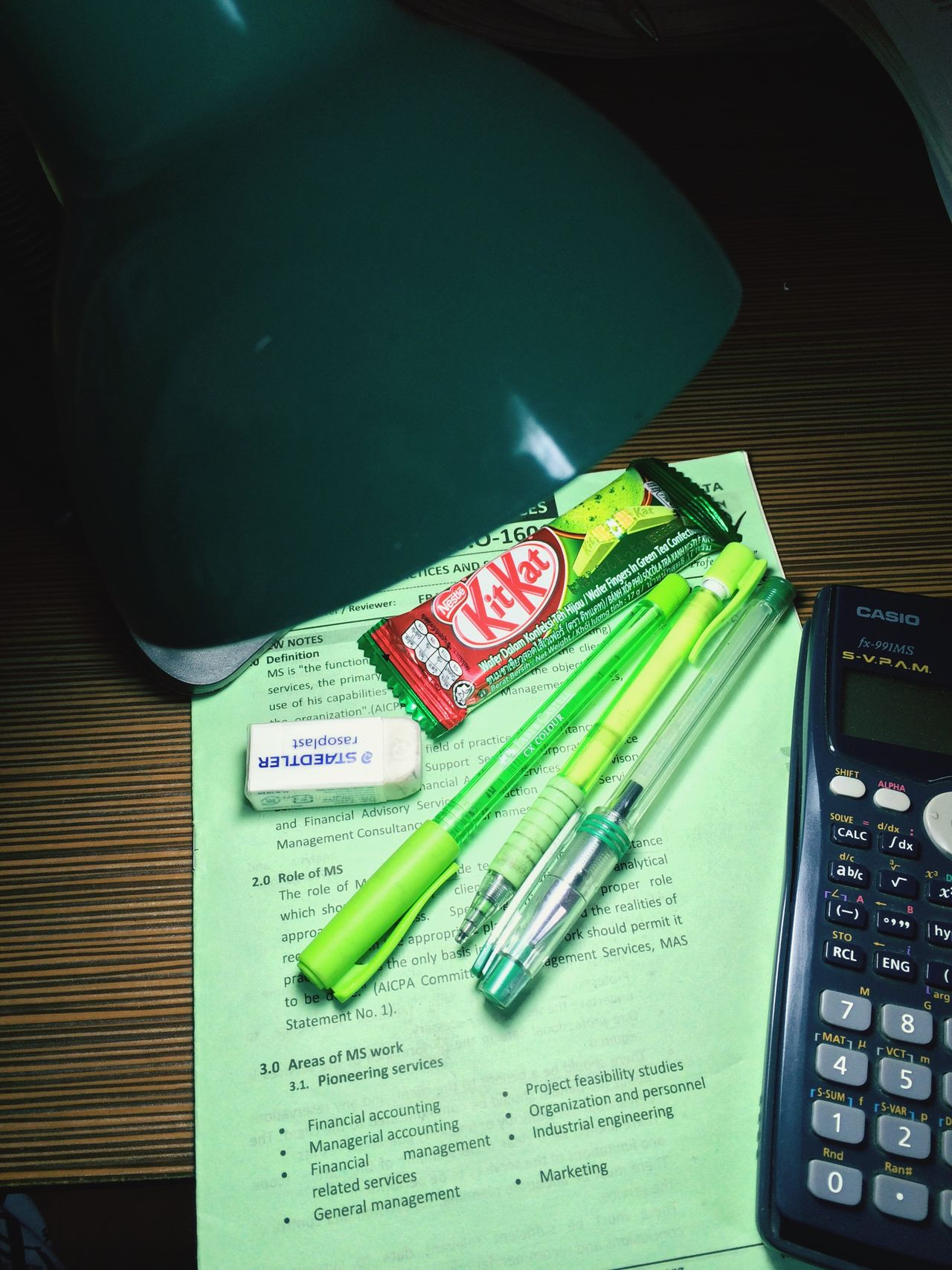 Green Pen Pencil Eraser Scool Studies Accounting Staedtler Work Hard The Color Of School Multi Colored