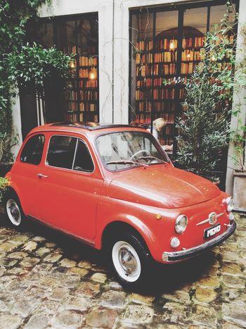 Conceptstore Merci Paris Fiat500 Shopping