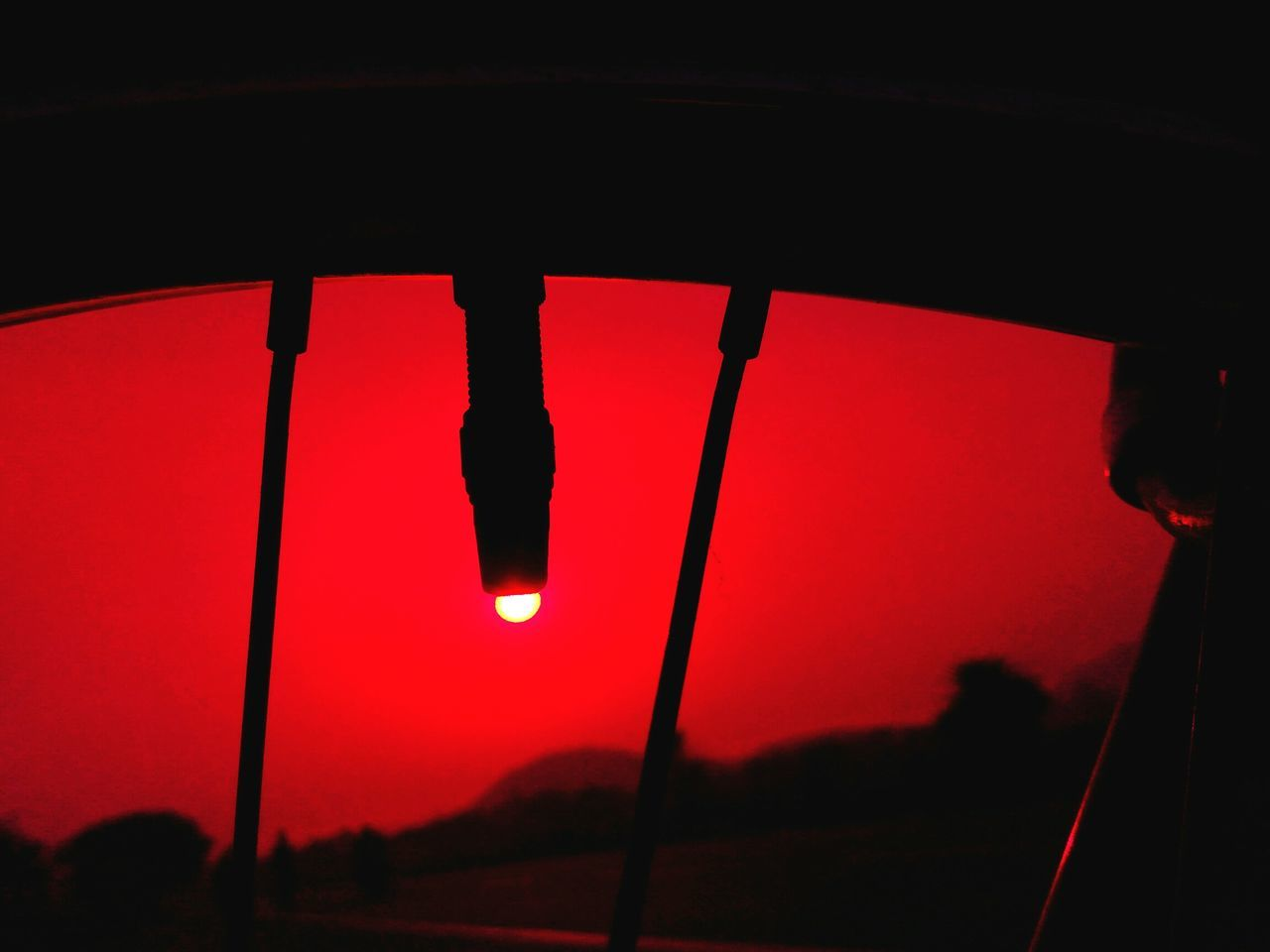 sunset, red, silhouette, nature, no people, outdoors, low angle view, beauty in nature, sky, close-up, illuminated, day