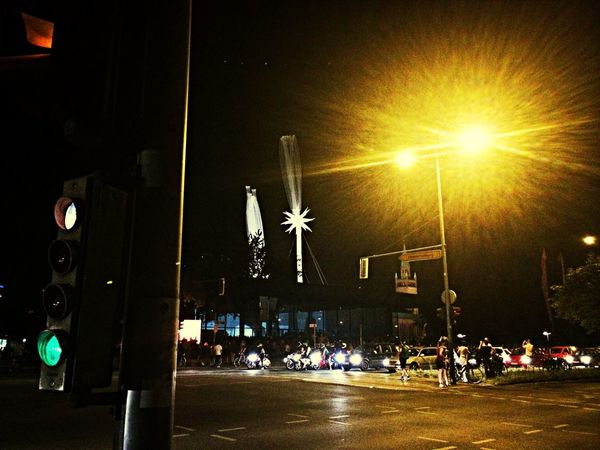 Sky art at midnight Otto Piene  Cool Installation