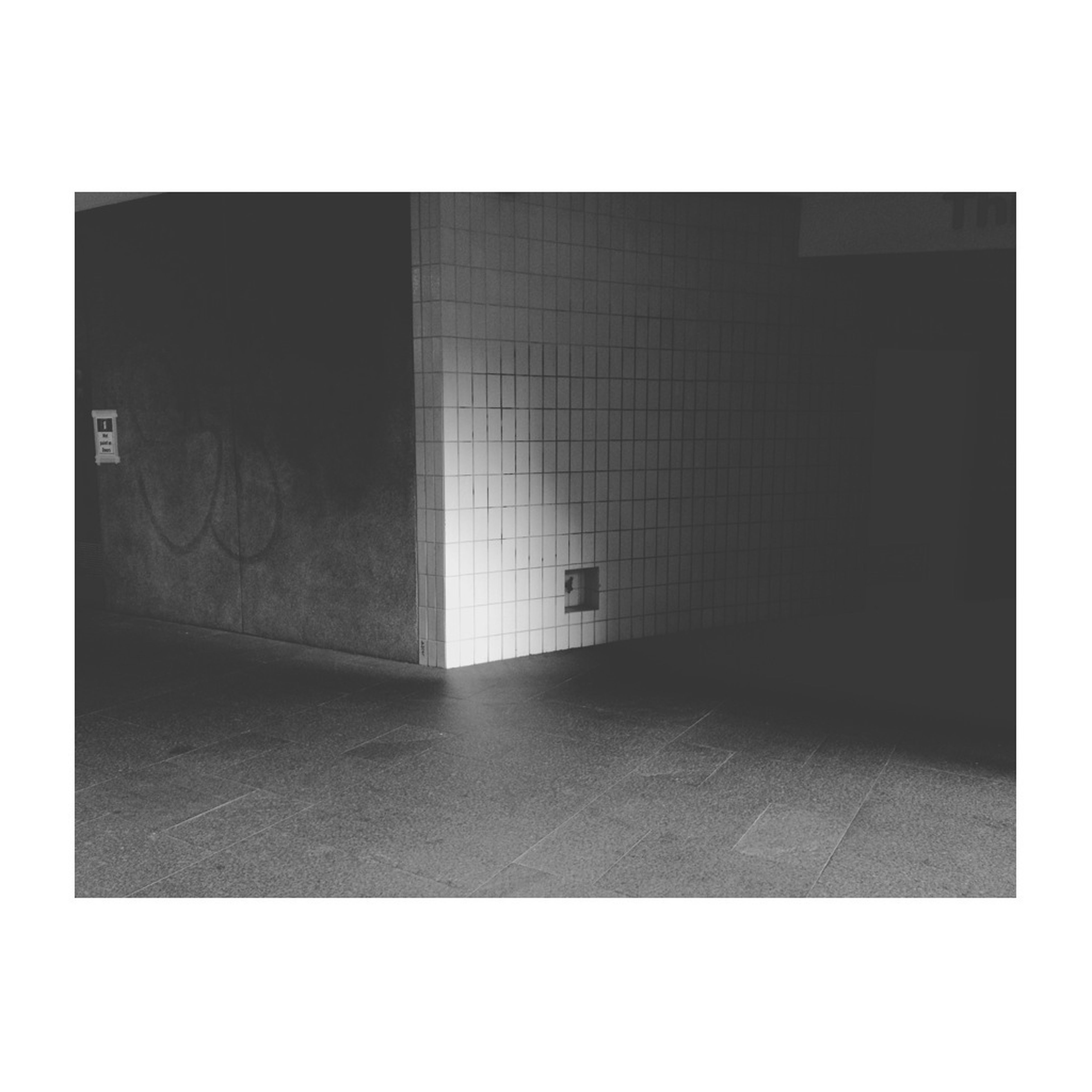 transfer print, architecture, built structure, auto post production filter, wall - building feature, indoors, wall, building exterior, empty, window, door, flooring, building, tiled floor, the way forward, absence, copy space, street, closed, no people