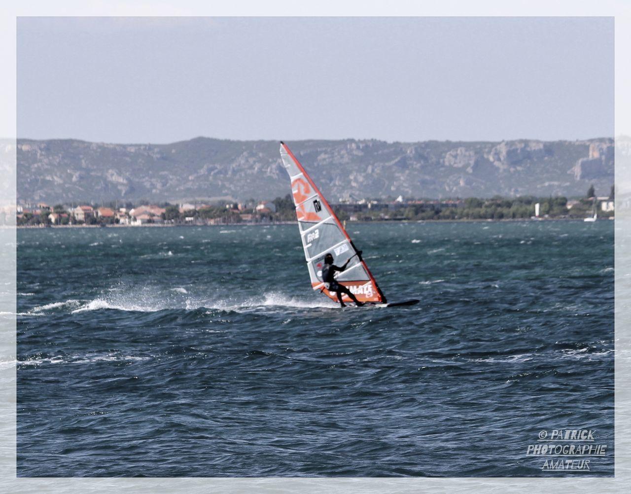 Glisse Marignane Plage Nature Planche à Voile... Sea Sport Water Windsurfing