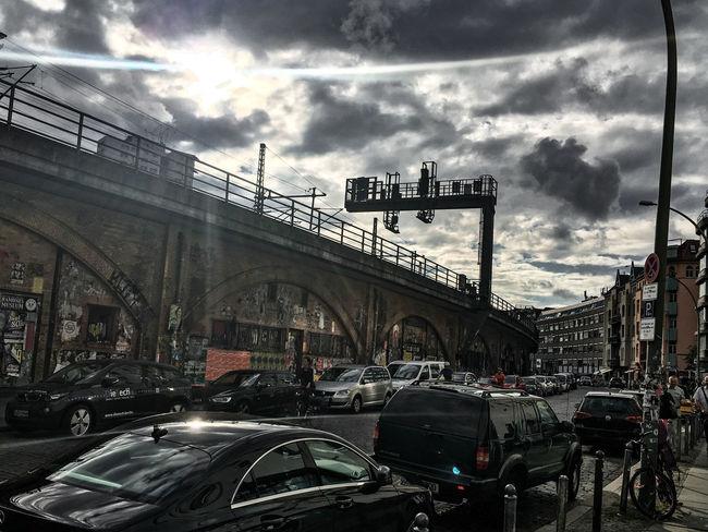 Architecture Bogen Building Exterior City Cloud - Sky Hackescher Markt Mode Of Transport Outdoors Sky Transportation