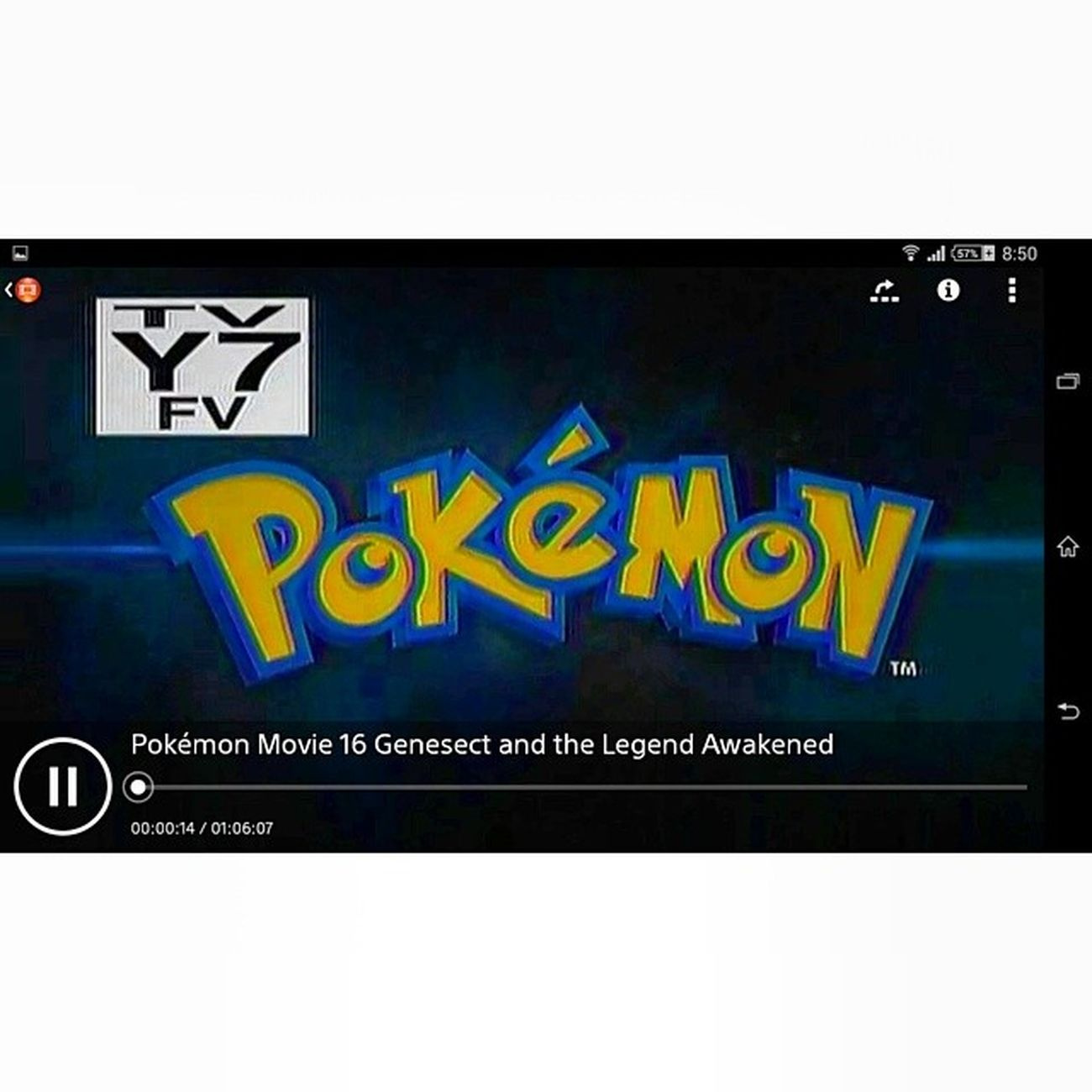 Its time to Pokémon movie 2013 Movieapp Sony Triluminos