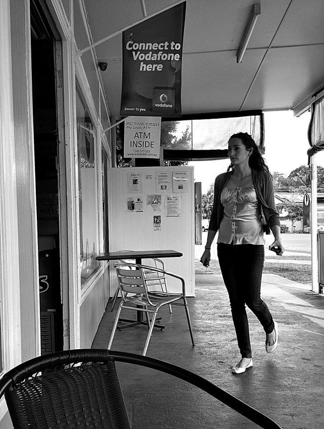 Fish And Chips Coffee The Morning Paper Blackandwhite