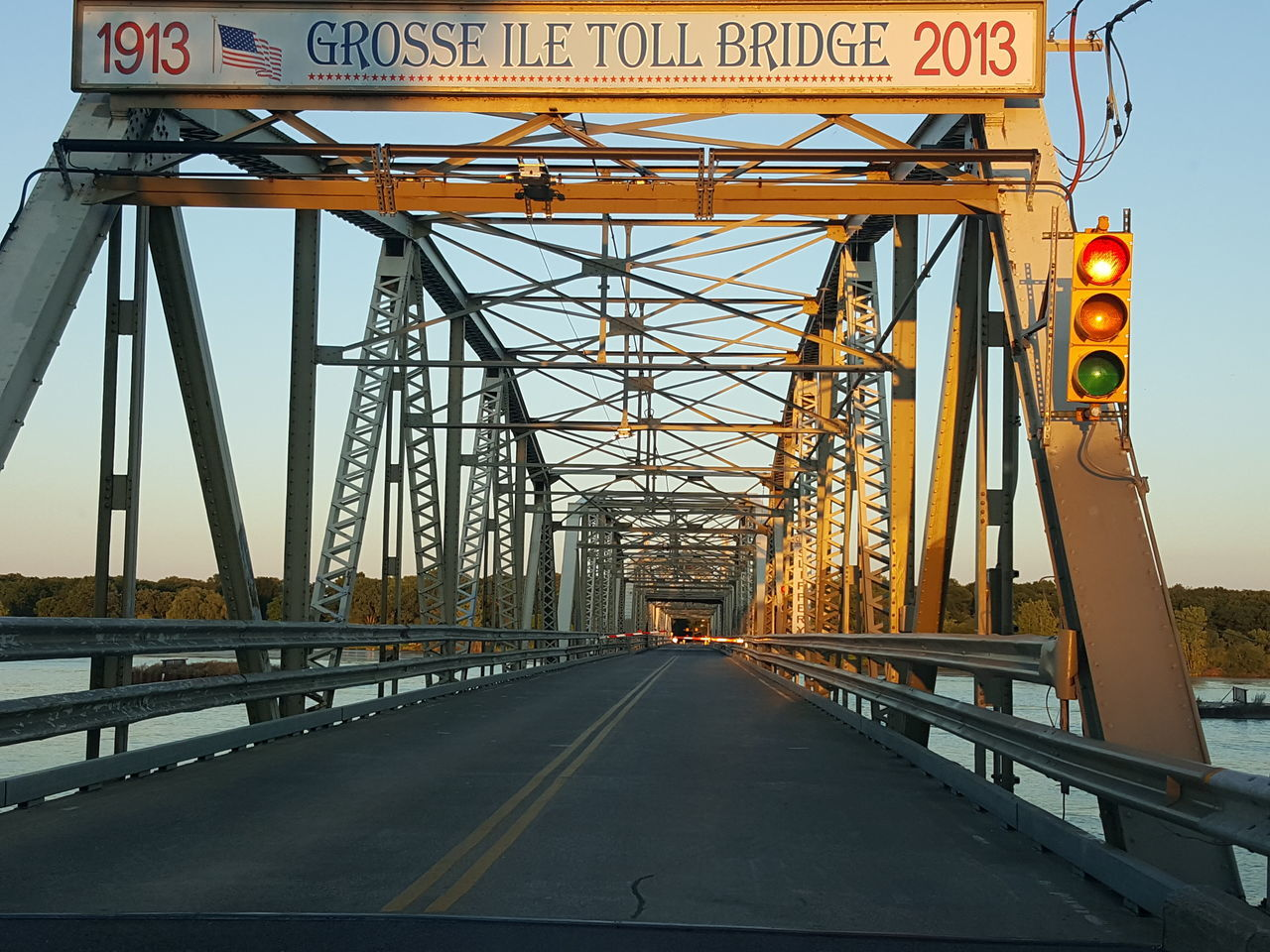 Grosse Isle Detroit River Bridges 1913 2013 Toll Bridges