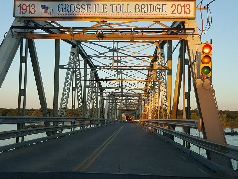 Grosse Isle Detroit River Bridges 1913 2013 Toll Bridges