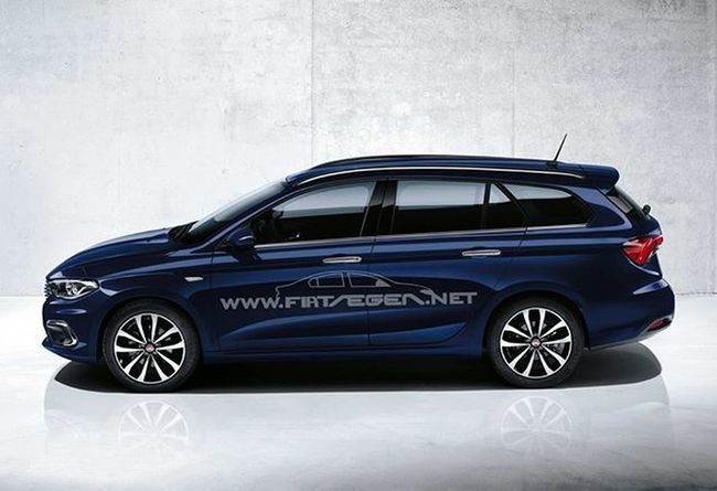 Fiategeasw cenevre otomobil fuarında tanıtıldı. Fiategeastationwagon Fiattiposw Fiattipostationwagon Fiategea FiatTipo