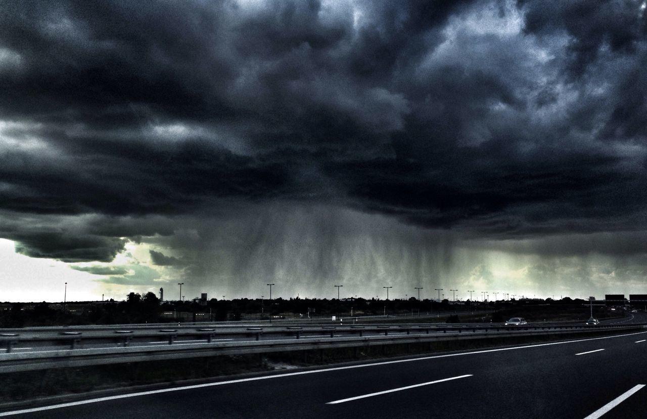 Rain Clouds Sky Landscape