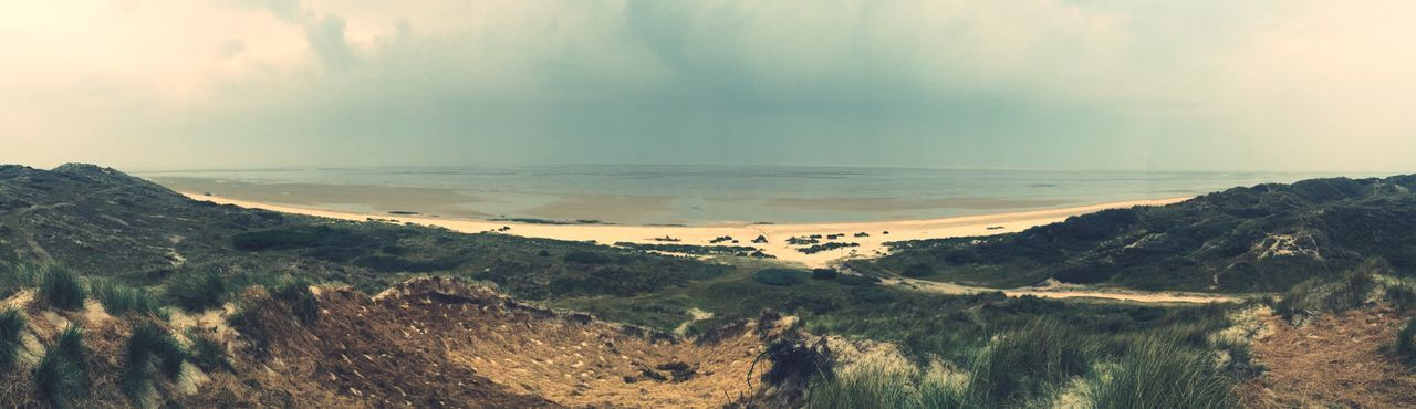 Holidays Holiday Holidays ☀ Danmark Fanø Sønderho Panorama Panoramic Panoramic View Panoramic Landscape The Great Outdoors - 2016 EyeEm Awards Seaside Water Beach Great Atmosphere Great View IPhone IPhoneography Iphone6 Good Times North Sea Mud Flat Nørdby