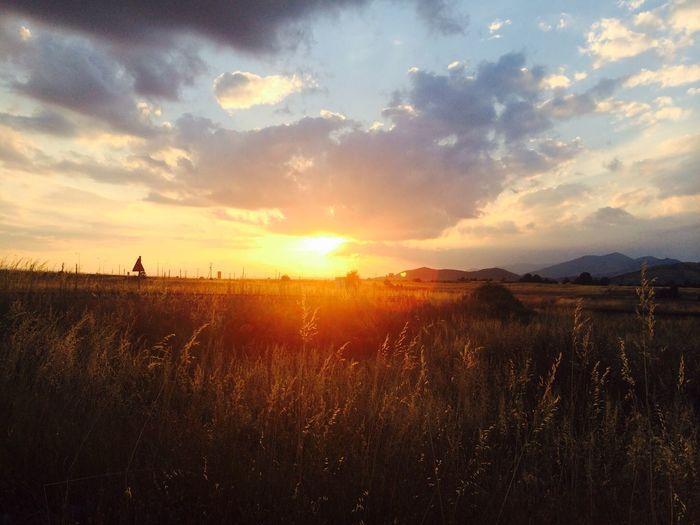 Nature Landscape Sunset Beatiful