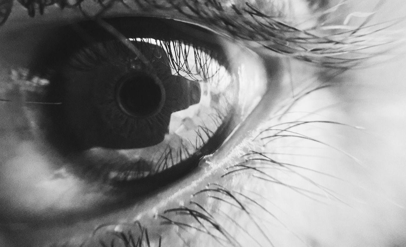 Close-up Sensory Perception Human Body Part Human Eye One Person Real People Backgrounds Eyesight Eyelash Indoors  People Eyeball Day